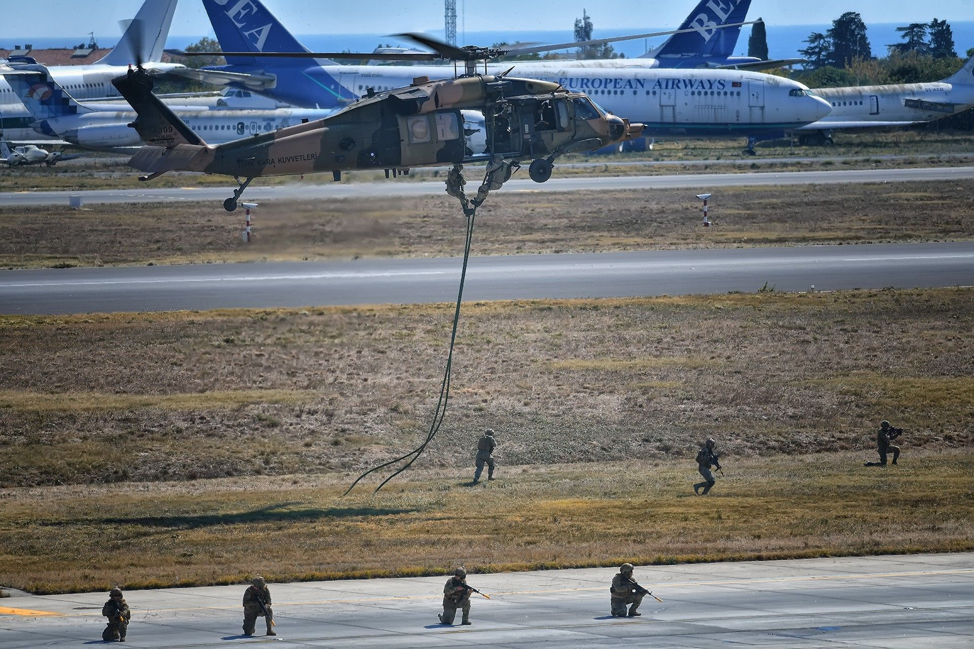 Turkish Special Forces ÖKK, SAT and Special Task Units SAS
