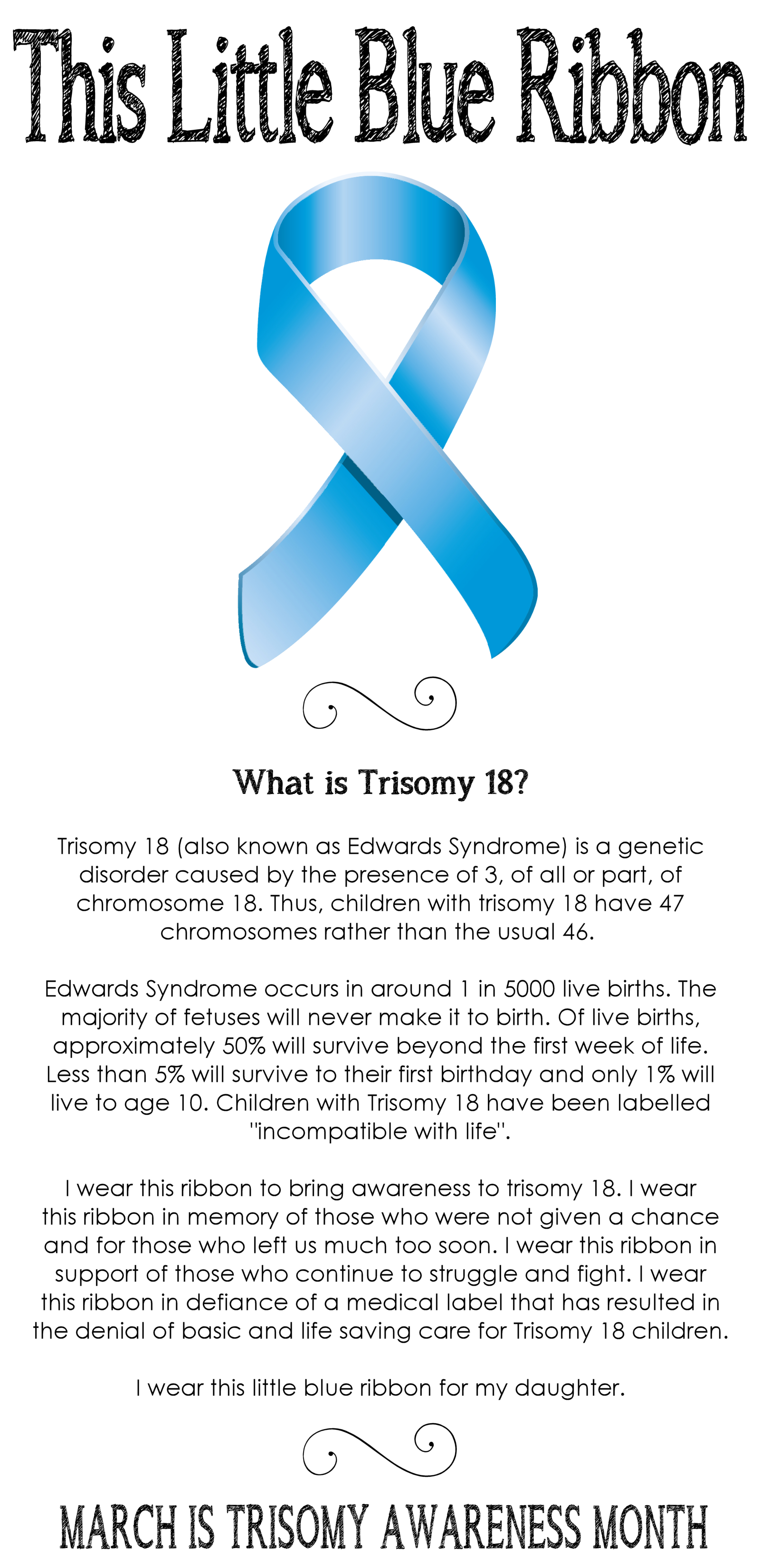 Why do children suffer from Edwards syndrome
