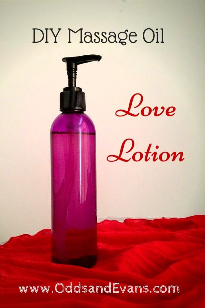 This easy DIY massage oil recipe is sure to please! Make your own homemade  love lotion to enhance the power of touch with aphrodisiac aromas. www.