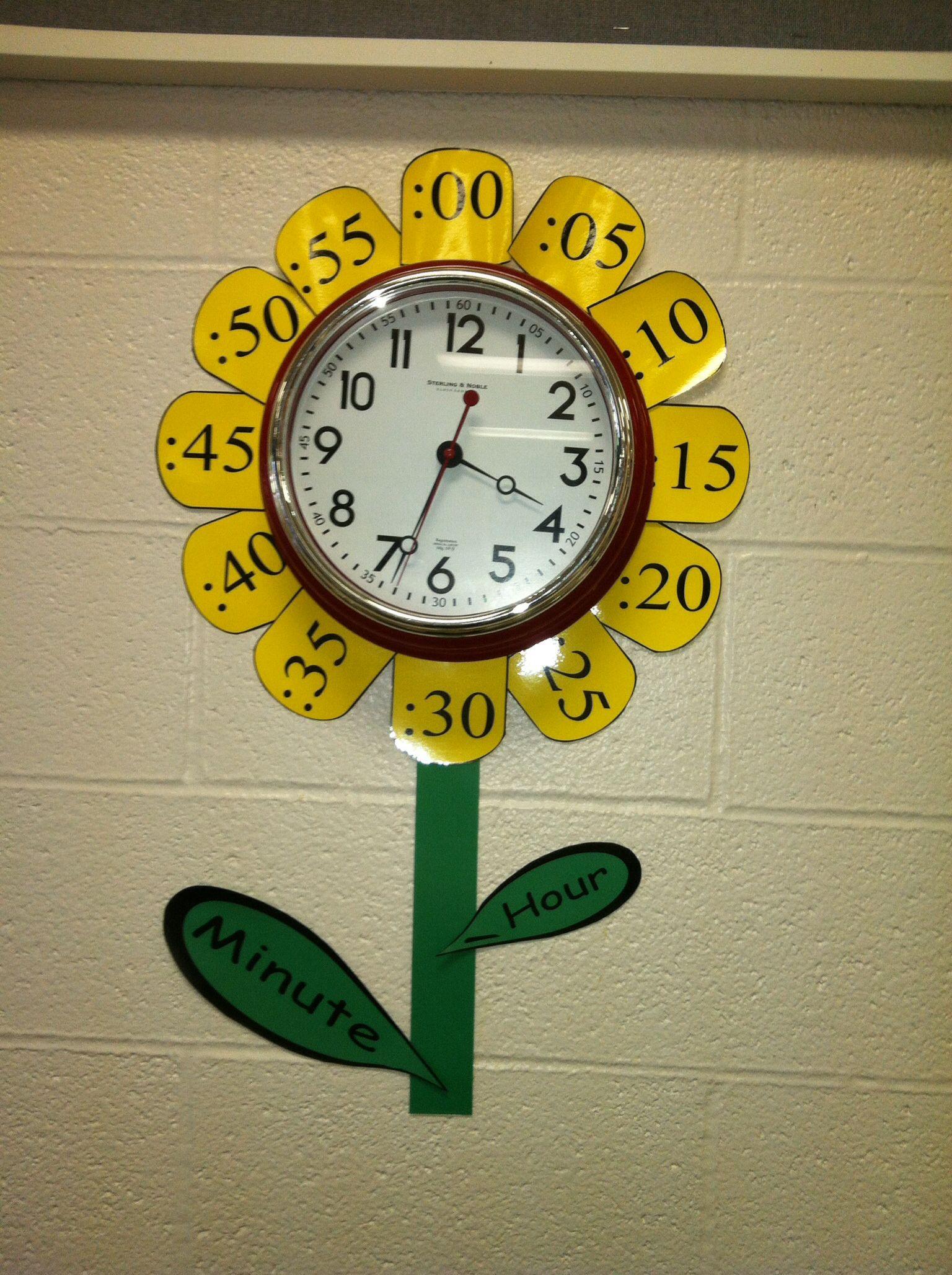 Telling Time Cute Flower