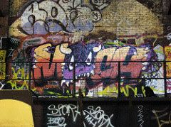 Graffiti Art Inspiration for Mooch's canvas