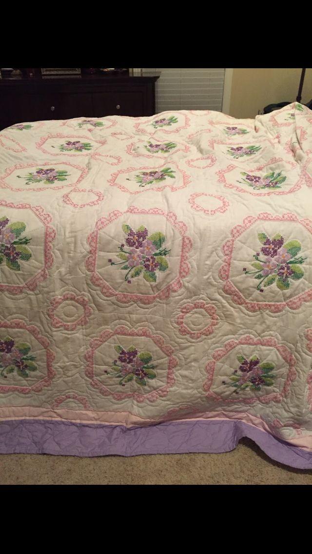 My grandmothers quilt. Nan Rosemary