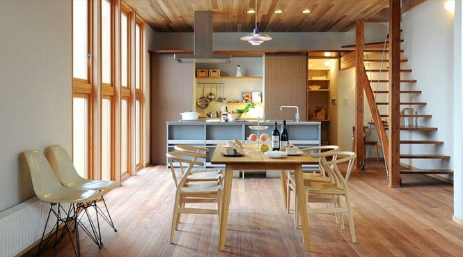 Japanese Kitchen Design With Modern Space Saving Design Japanese
