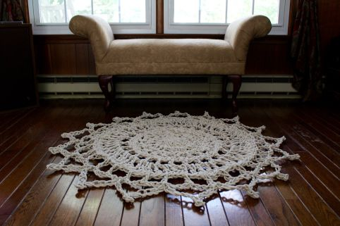 HOW TO: GIANT DOILY RUG