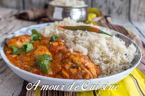 recette Poulet tikka massala - Amour de cuisine