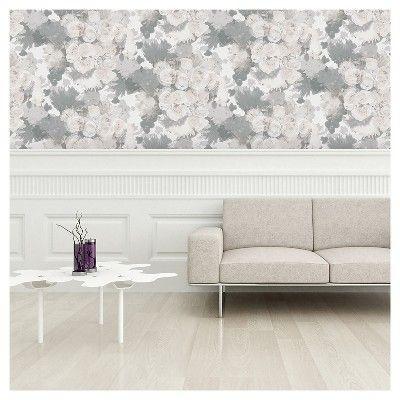 Devine Color Bouquet Floral Peel & Stick Wallpaper Mirage