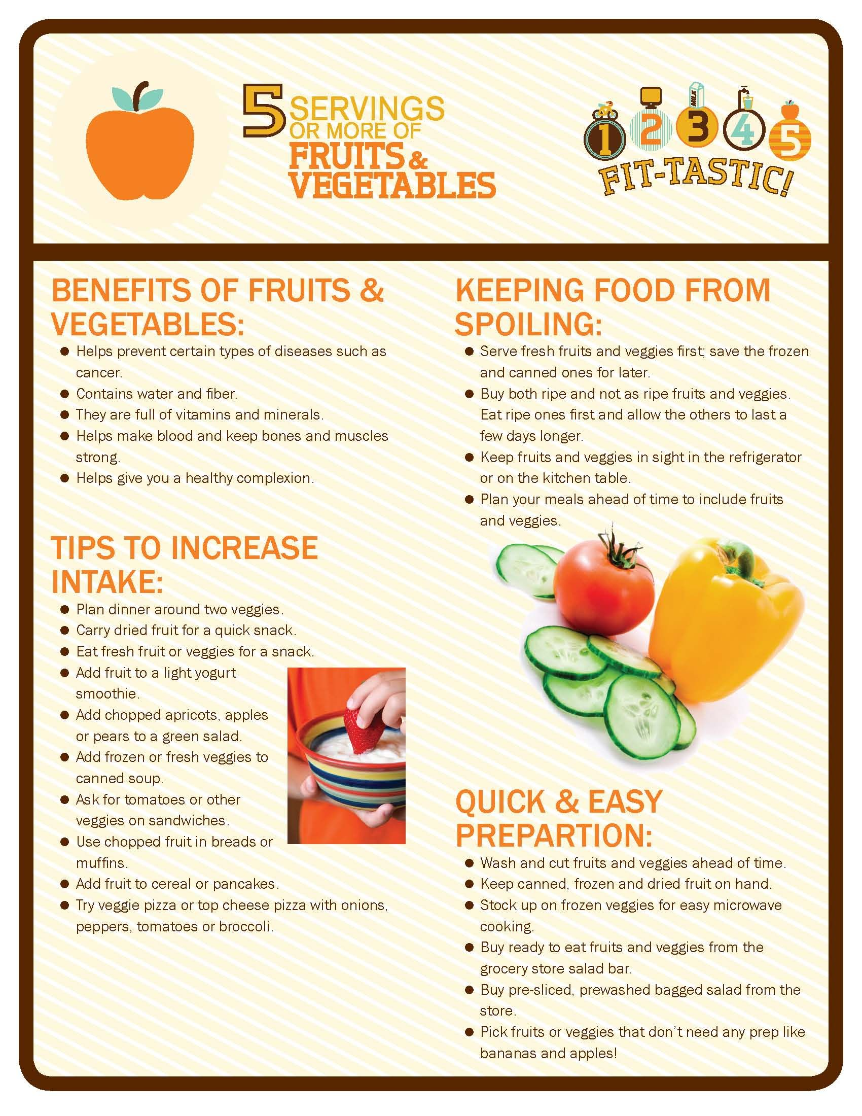 benefits of fruits & vegetables for kids (part 1) 12345fit