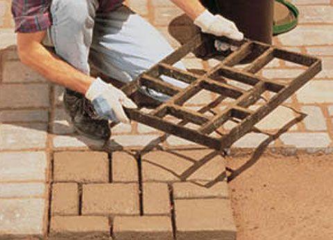 DIY Maven: Faux Stone Pavers