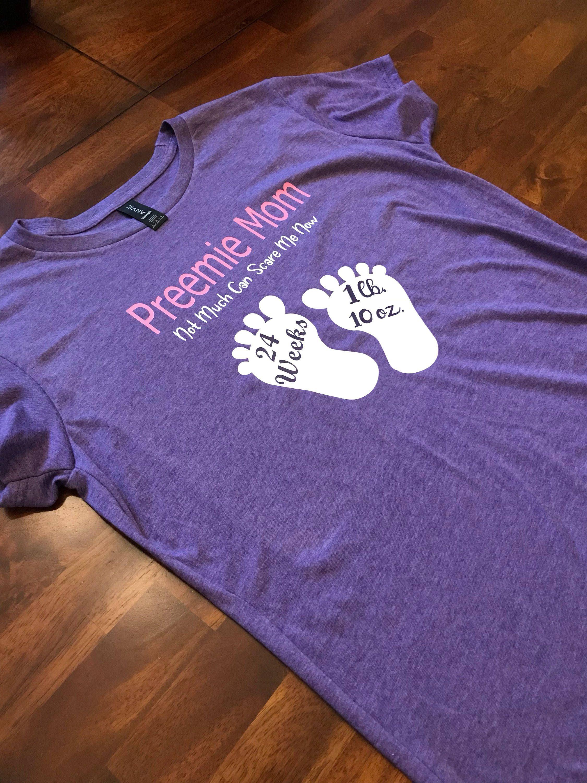 Preemie mom-preemie fight club-custom weeks