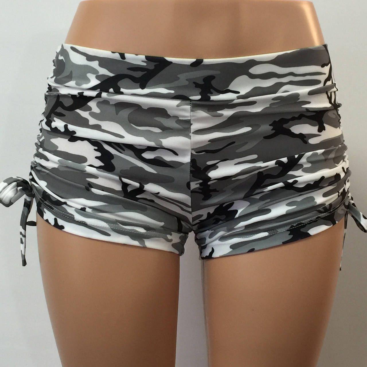 9c1050730c Hot Yoga Shorts - Camo Shorts - Fitness Shorts - Black - White - Pole  Fitness - Shorts - Plus Size Workout - SXYfitness - Made in USA by  SXYfitness on Etsy