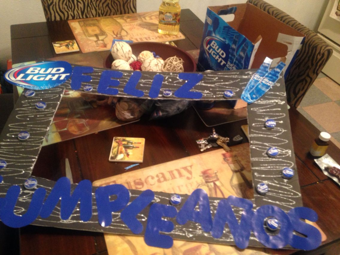 Party Frame For Budlight Theme Party Budlight Bbq Food In 2019