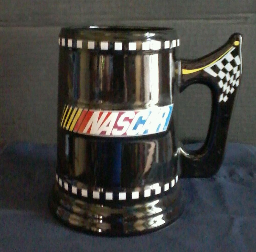 Nascar COFFEE MUG Cup Beer Stein XL 2003 SHERWOOD BRAND