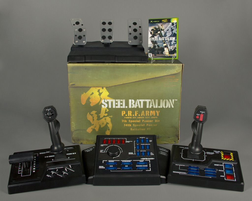 Steel Battalion Controller (2002): Special 40 button controller for the  mecha-simulator game Steel Battalion. | Controller design, Games, Arcade  games