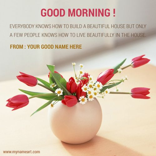 Beautiful Rose Flower Pot Pics With Name Editing For Good