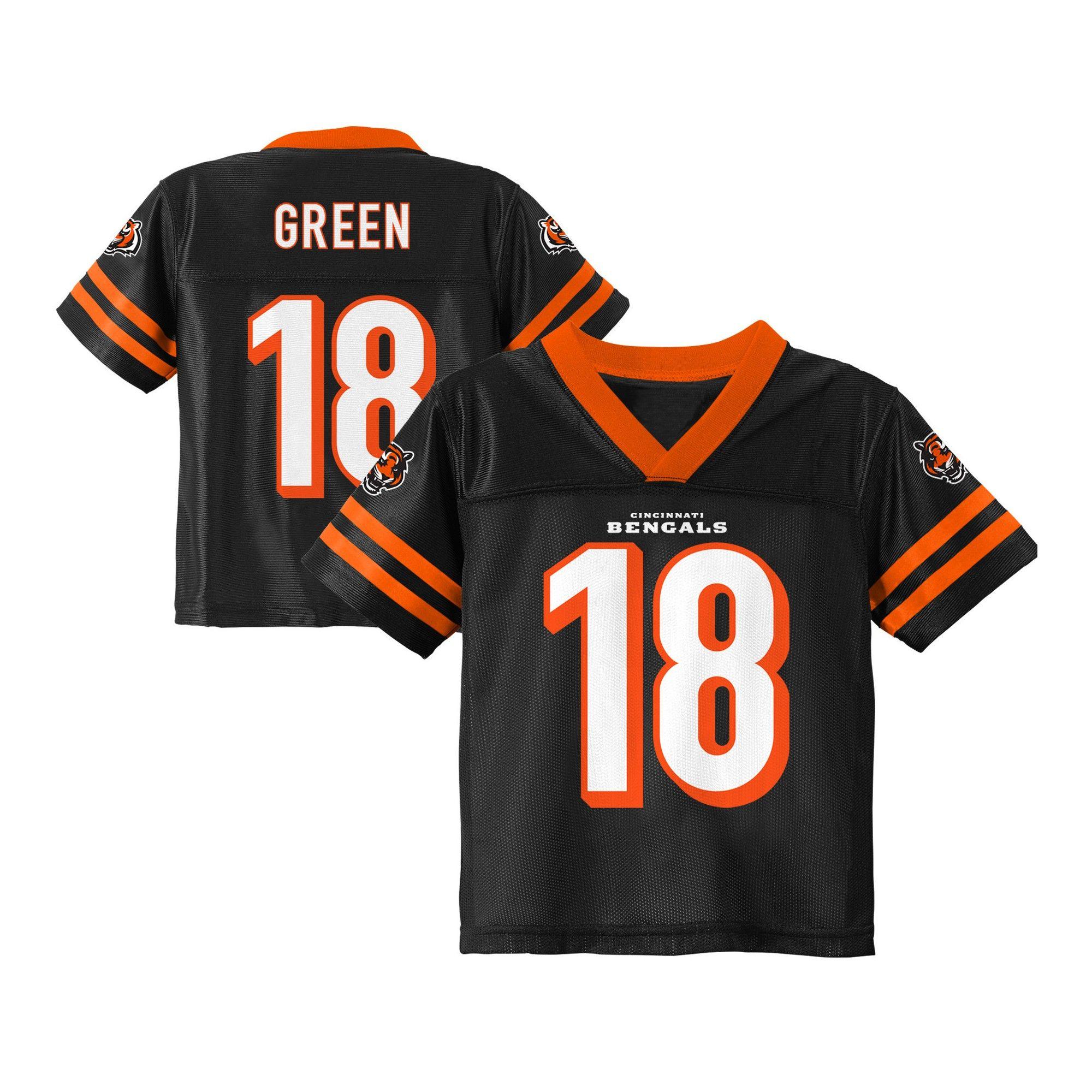297cdeec1e3 Cincinnati Bengals Toddler Player Jersey 4T, Toddler Boy's ...