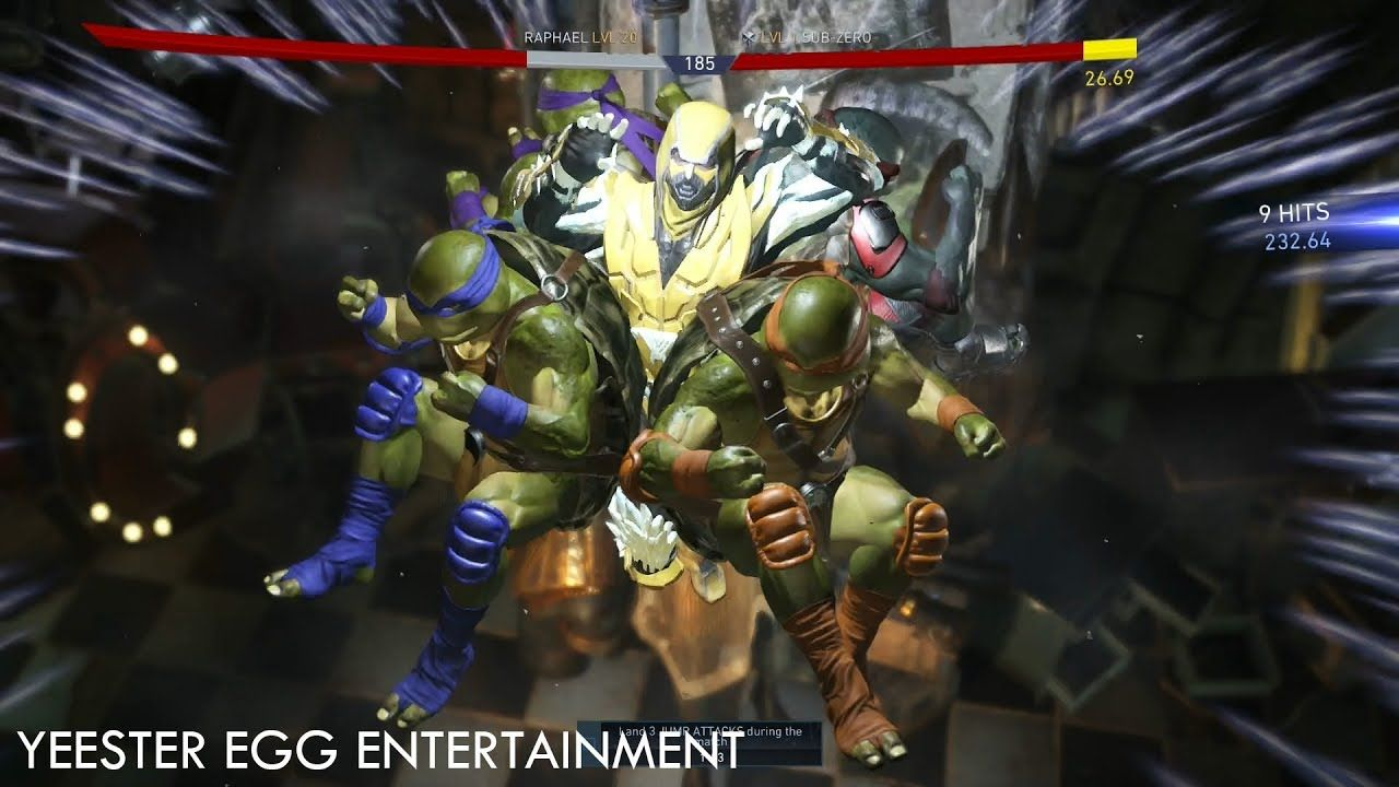 Injustice 2 Tmnt Character Ending Turtle Time Multiverse Highlights Turtle Time Tmnt Injustice