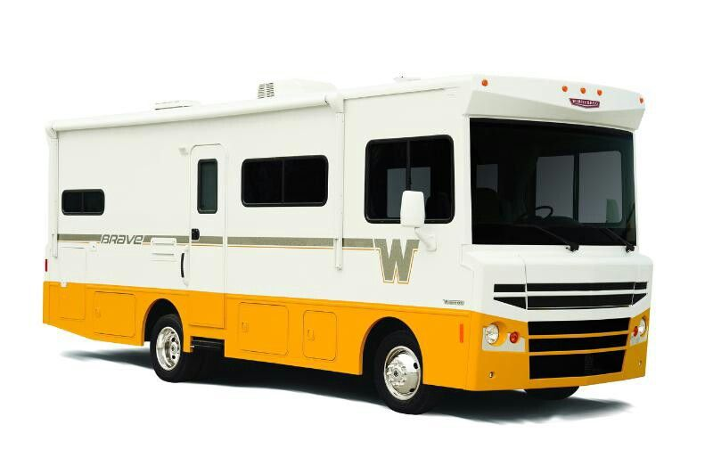 The new vintage-inspiredWinnebago Brave was introducedtorave