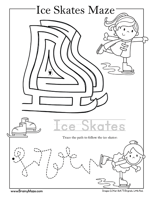 Winter Themed Activity Pages for Preschool and