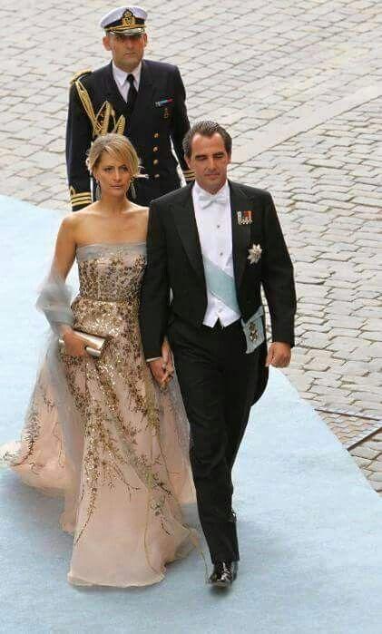Prince Nikolaos and Princess Tatiana of Greece.