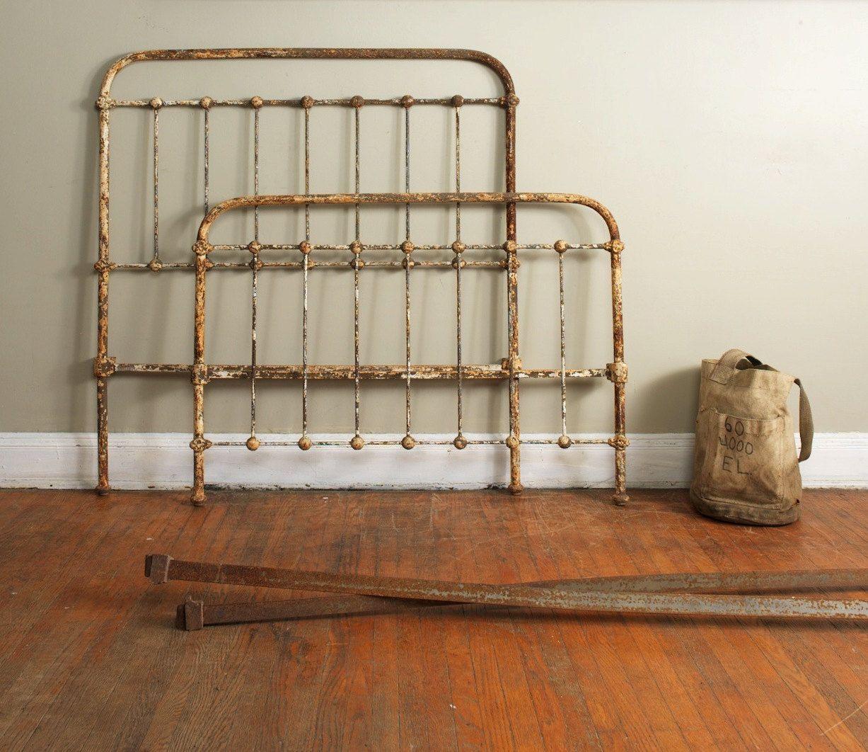 Cast Iron Three Quarter Size Bed Frame Rainbow Brite Exact