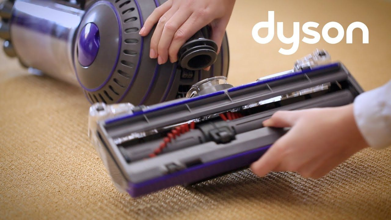 Dyson dc41 and dc65 checking the cleaner head and base