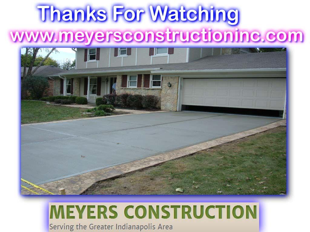 Http Www Meyersconstructioninc Com Retaining Walls Paving Contractors Driveway Paving Concrete Contractor