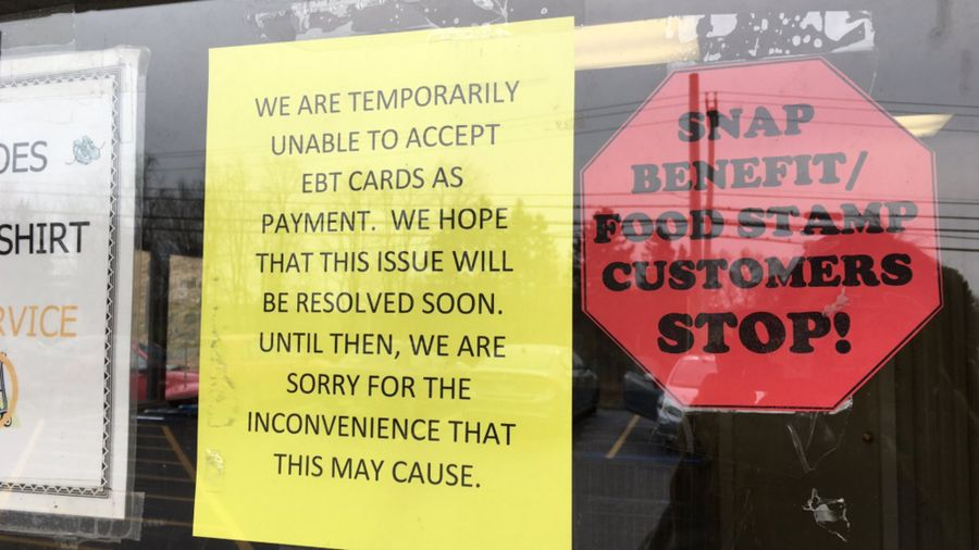 Government shutdown impacting local grocery store, cannot