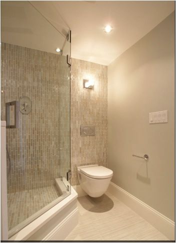 Solution For Step Up Shower Modern Bathroom Floating