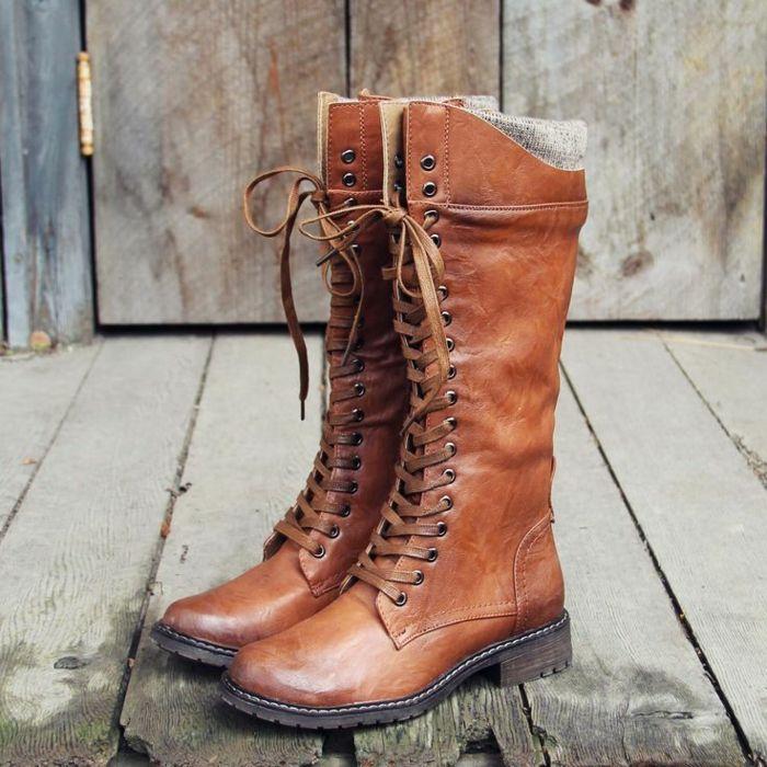 e3c40c5a9ca1 Herbst- und Winterstiefel für Damen in Street Style   Street styles ...