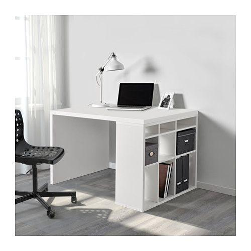 Mobel Einrichtungsideen Fur Dein Zuhause Schreibtischkombination Regal Weiss Kallax Schreibtisch