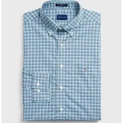 Photo of Gant Broadcloth 3-Farben Gingham Shirt (Blau) GantGant
