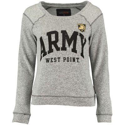 e0bc45e36ae5e0 Women s Gray Army Black Knights Moonlight Crew Neck Sweater