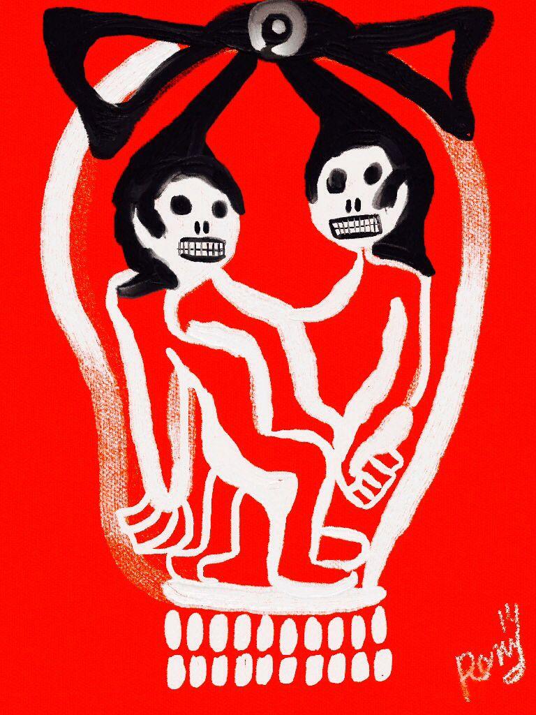 'La Indecente Muerte' by Rony.
