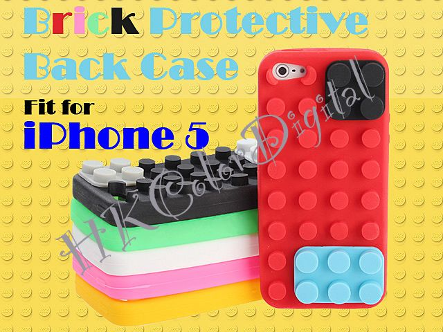This Protective Case in Brick Style, which can protect your iPhone body and Lens. That Brick can also arrange your Cable!