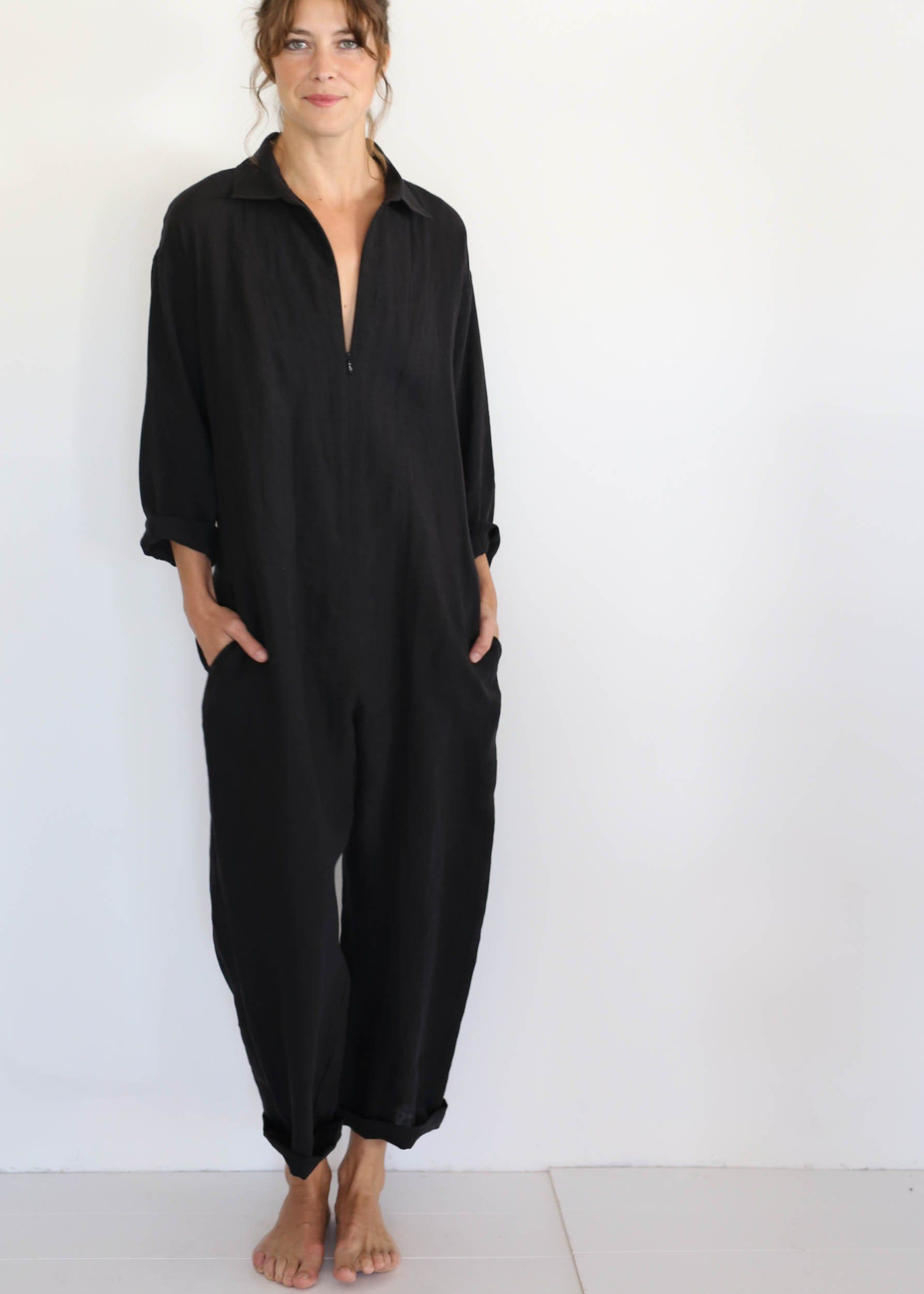 ffb9af107638 Image result for Beatrice Valenzuela - Picasso Jumpsuit - Black ...