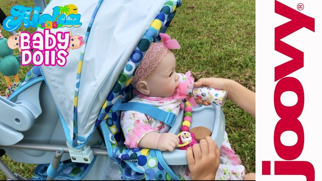 Joovy Toy Caboose Unboxing & Details! 👶🏼 Reborn Dolls Try