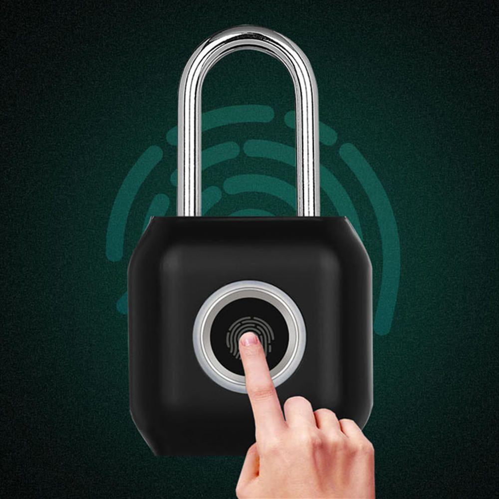 YEELOCK Smart Fingerprint Door Lock Padlock USB Charging
