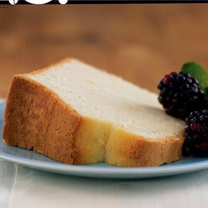 Low calorie pound cake recipe