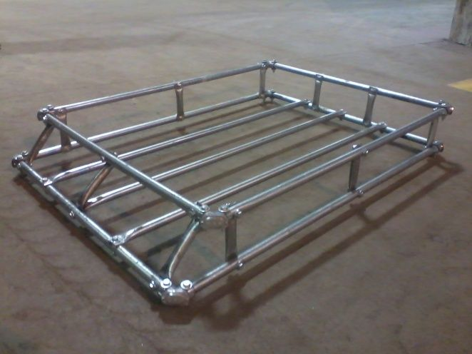 My Easy No Weld Roof Rack Jeep Cherokee Forum Truck Roof Rack Roof Rack Safari Rack