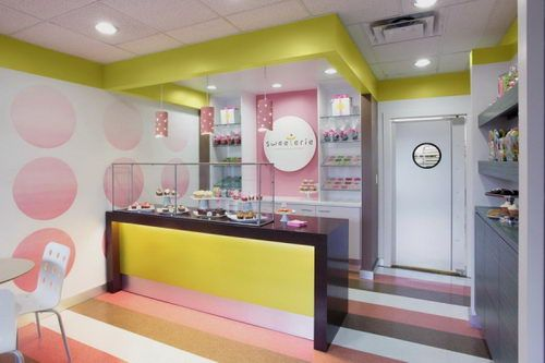 The Sweeterie Cookie Store Design Inspiring Retail And Store Designs Cake Shop Interior Cake Shop Design Bakery Design Interior
