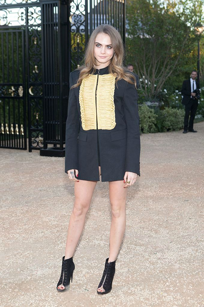 Cara Delevingne at Burberry 'London in Los Angeles' 4/16/2015