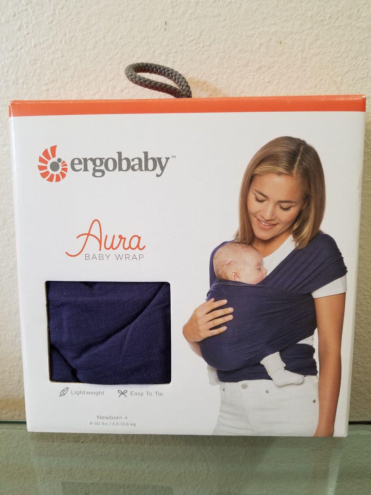 34 99 Ergobaby Aura Wrap Indigo Baby Wrap Carrier 8 25lb