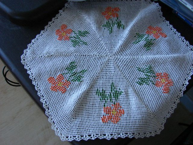 This is real fine crochet work.