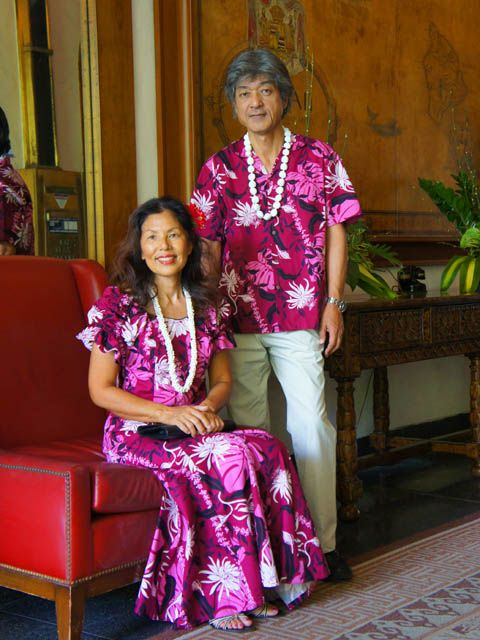 Matching Hawaiian Clothing For Couple 25th Anniversary