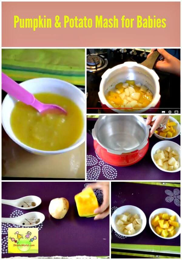 Easy homemade baby food pumpkin and potato mash fit for 7 food forumfinder Choice Image