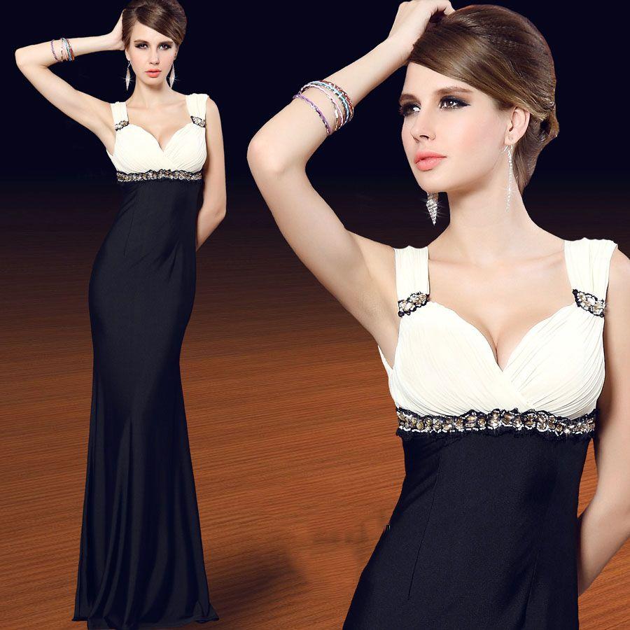 Corset type slim package hip mermaid celebrity dress evening dress