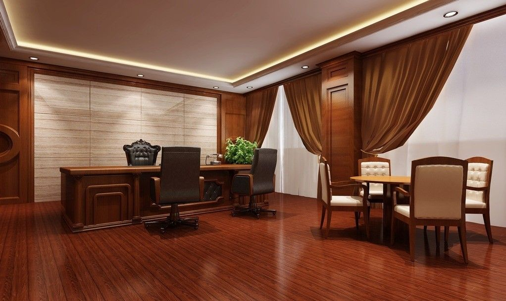 Luxury office rendering office pinterest luxury for Luxury office interior
