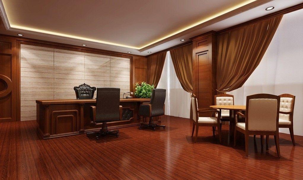 Luxury office rendering Office interior design