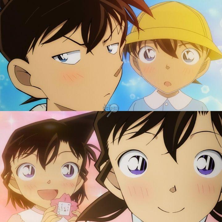 Shinichi Kudo (Als Jugendlicher Vs. Als Kind) Ran Mori