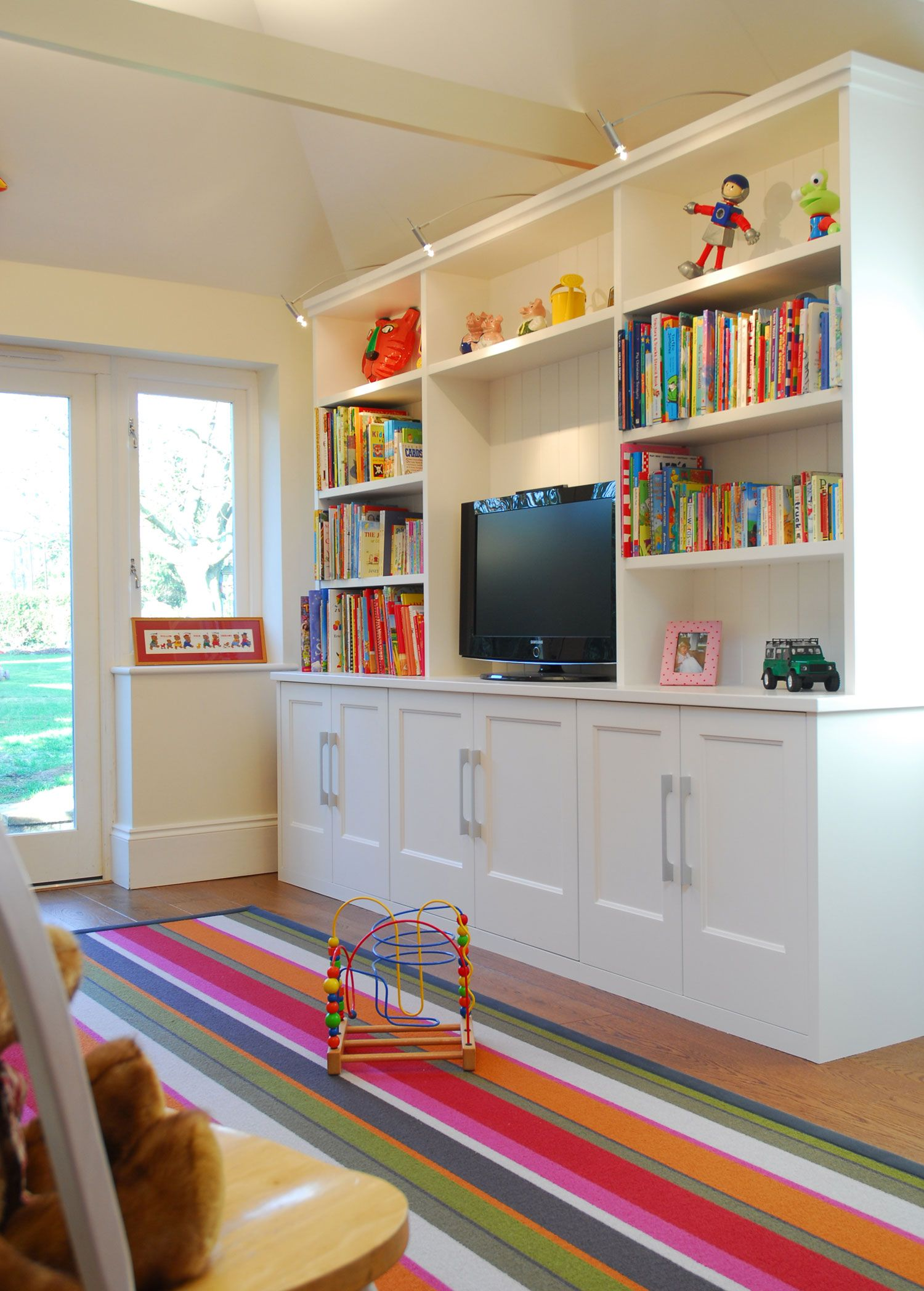 Childrens loft bedroom ideas  Functional storage for a loft space  Kids Play Room  Pinterest